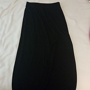 Express long slit skirt
